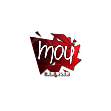 Sticker mou (Foil) | Cologne 2016