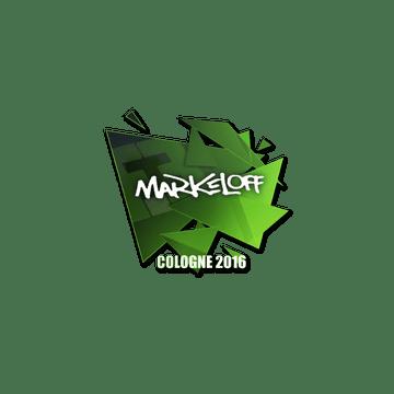 Sticker markeloff | Cologne 2016