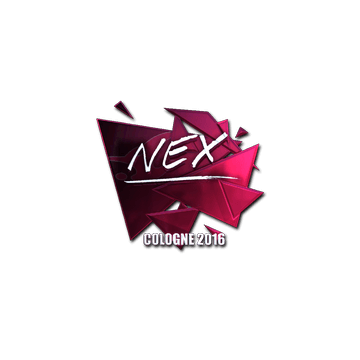 Sticker nex (Foil) | Cologne 2016