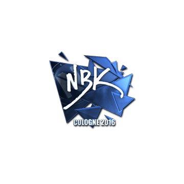 Sticker | NBK- (Foil) | Cologne 2016