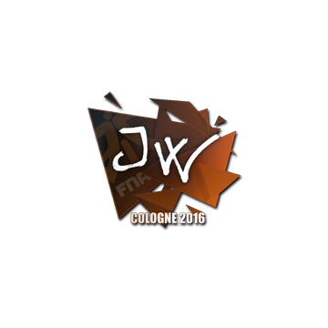 Sticker JW | Cologne 2016