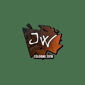 Sticker | JW | Cologne 2016