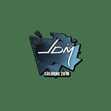 Sticker jdm64 | Cologne 2016