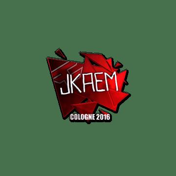 Sticker jkaem (Foil) | Cologne 2016