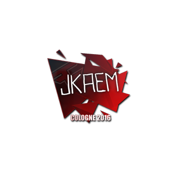 Sticker jkaem | Cologne 2016