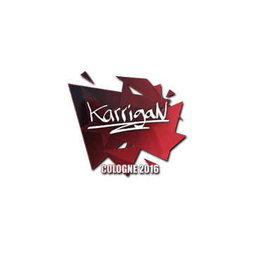 Sticker | karrigan | Cologne 2016