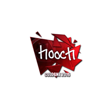 Sticker hooch (Foil) | Cologne 2016