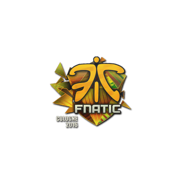 Sticker Fnatic (Holo) | Cologne 2016
