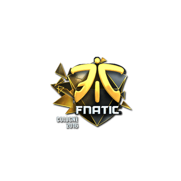 Sticker Fnatic (Foil) | Cologne 2016