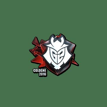 Sticker G2 Esports (Foil)   Cologne 2016
