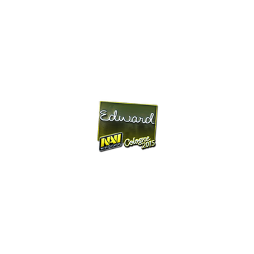 Sticker Edward (Foil) | Cologne 2015
