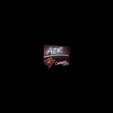 Sticker AZR (Foil) | Cologne 2015
