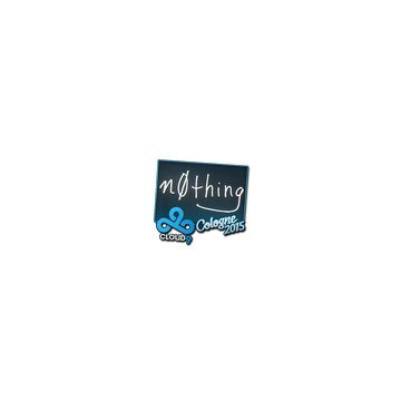 Sticker   n0thing   Cologne 2015
