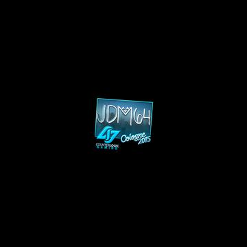 Sticker | jdm64 (Foil) | Cologne 2015