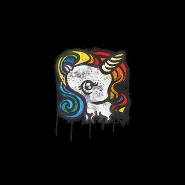Sealed Graffiti | Unicorn