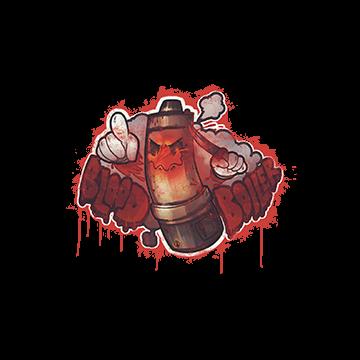 Sealed Graffiti | Blood Boiler