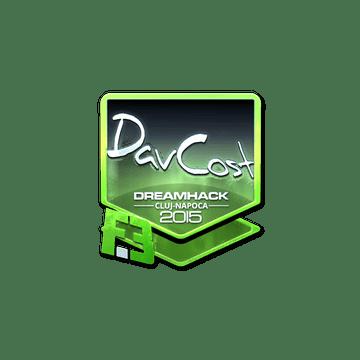 Sticker DavCost (Foil) | Cluj-Napoca 2015