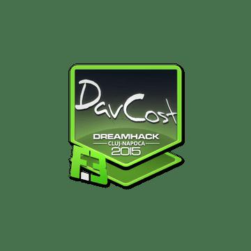 Sticker DavCost | Cluj-Napoca 2015