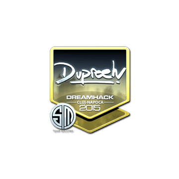 Sticker dupreeh (Foil) | Cluj-Napoca 2015