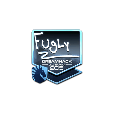 Sticker FugLy (Foil) | Cluj-Napoca 2015