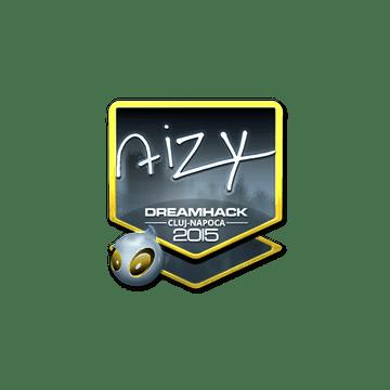 Sticker aizy (Foil)   Cluj-Napoca 2015