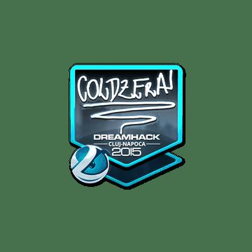 Sticker coldzera (Foil) | Cluj-Napoca 2015