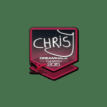 Sticker chrisJ | Cluj-Napoca 2015