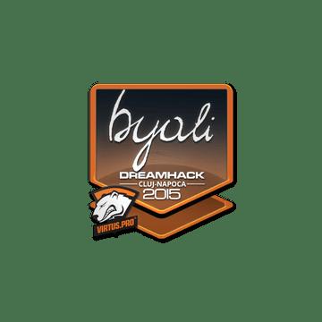 Sticker byali | Cluj-Napoca 2015