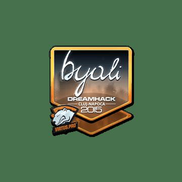 Sticker byali (Foil) | Cluj-Napoca 2015