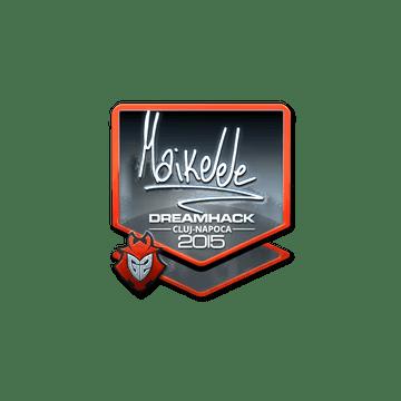 Sticker Maikelele (Foil) | Cluj-Napoca 2015