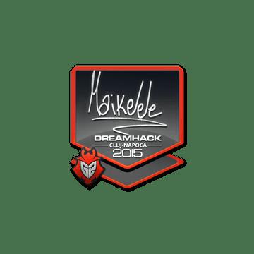 Sticker Maikelele | Cluj-Napoca 2015