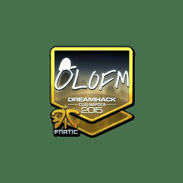 Sticker olofmeister (Foil) | Cluj-Napoca 2015