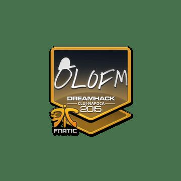 Sticker olofmeister | Cluj-Napoca 2015