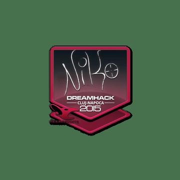 Sticker NiKo | Cluj-Napoca 2015