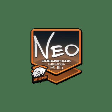 Sticker NEO | Cluj-Napoca 2015