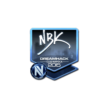 Sticker NBK- (Foil) | Cluj-Napoca 2015
