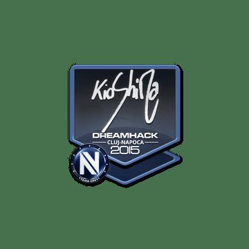 Sticker kioShiMa | Cluj-Napoca 2015