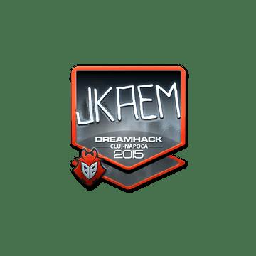 Sticker jkaem (Foil) | Cluj-Napoca 2015