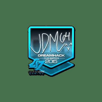 Sticker jdm64 (Foil) | Cluj-Napoca 2015