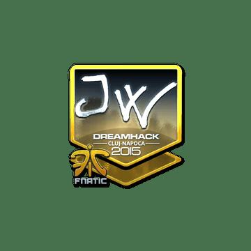 Sticker JW (Foil) | Cluj-Napoca 2015