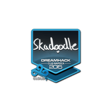 Sticker Skadoodle | Cluj-Napoca 2015