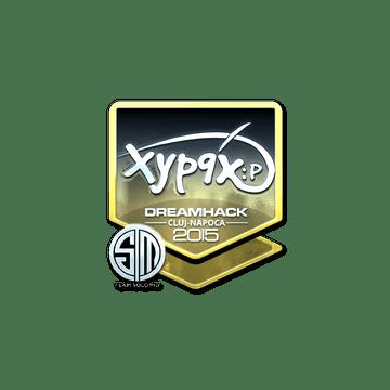 Sticker | Xyp9x (Foil) | Cluj-Napoca 2015