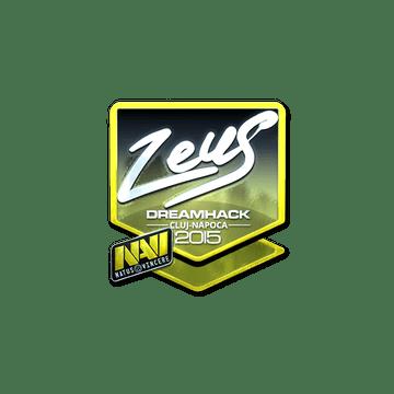 Sticker Zeus (Foil) | Cluj-Napoca 2015