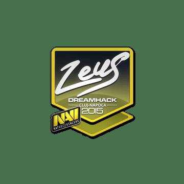 Sticker Zeus | Cluj-Napoca 2015