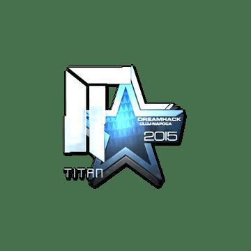 Sticker Titan (Foil) | Cluj-Napoca 2015