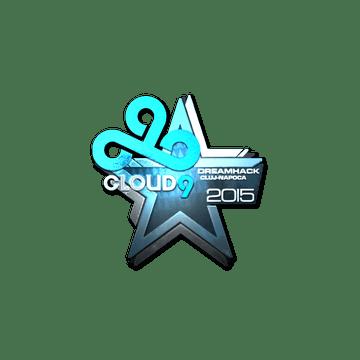 Sticker Cloud9 (Foil) | Cluj-Napoca 2015