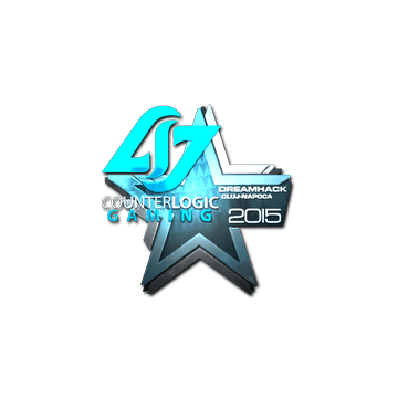 Sticker Counter Logic Gaming (Foil) | Cluj-Napoca 2015