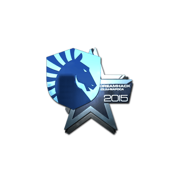 Sticker Team Liquid (Foil) | Cluj-Napoca 2015