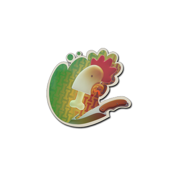 Sticker   Bonehead (Holo)