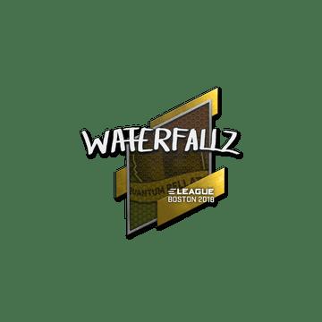 Sticker | waterfaLLZ | Boston 2018